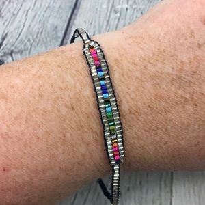 Stella & Dot Multi Color Seed Bead String